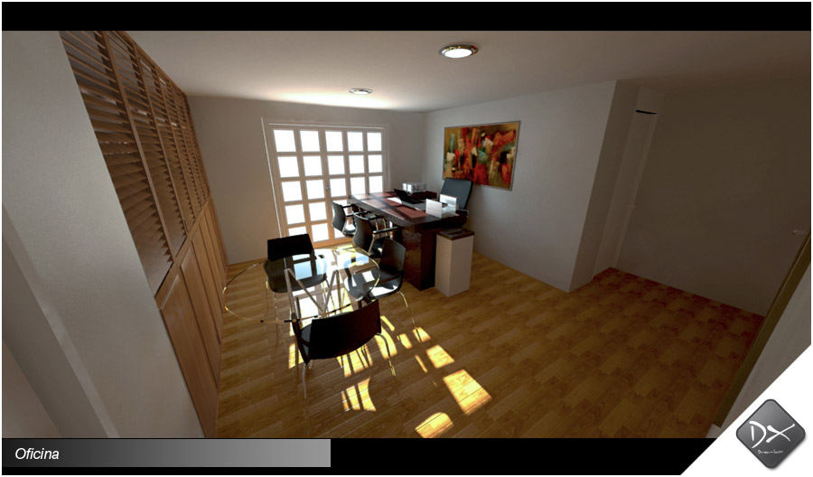 Decoraci N De Oficina 3d Dreambox Agencia De Dise O Y